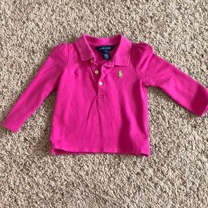 Toddler pink Polo Shirt